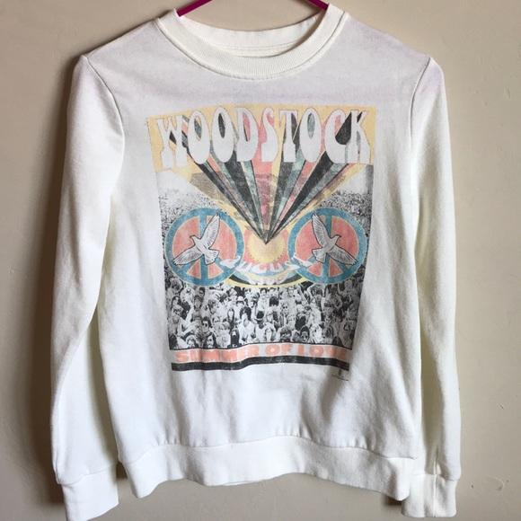 c9adfcf2e4 Woodstock Sweatshirt. M 5a8f2c645512fdfdbed0d625